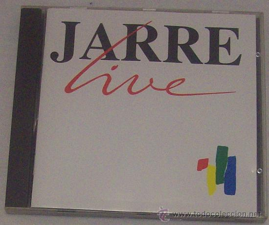 CD DE JARRE LIVE (Música - CD's Techno)