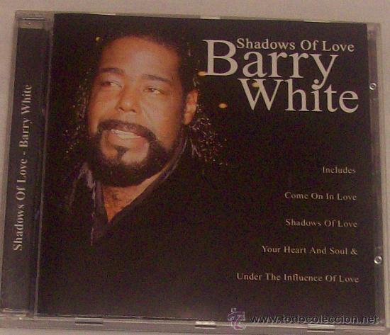 BARRY WHITE SHADOWS OF LOVE (Música - CD's Techno)