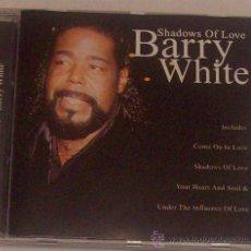 CDs de Música: BARRY WHITE SHADOWS OF LOVE. Lote 29732513