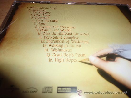 CDs de Música: NIGHTWISH THE BEST OF NINGHTWISH HIGHEST HOPES - Foto 4 - 29744316