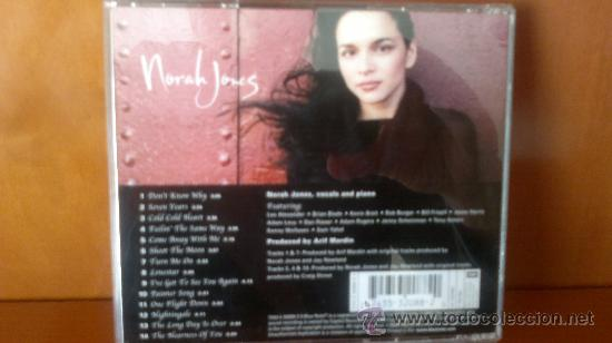 CDs de Música: NORAH JONES - Come Away With Me - Foto 2 - 29809514