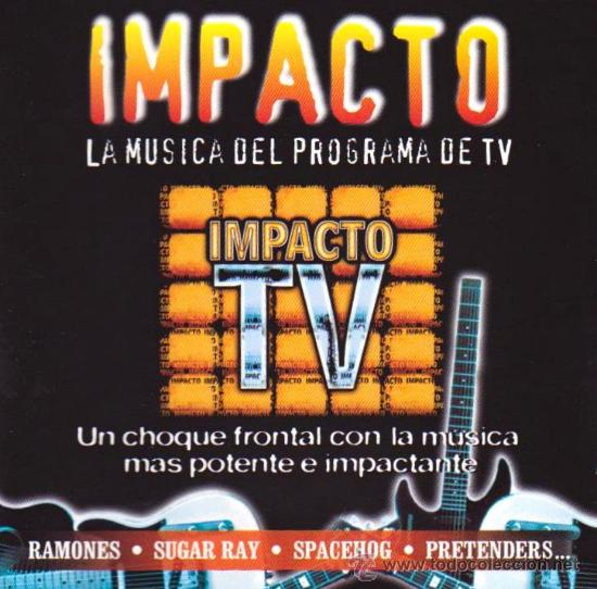 2 X CD ALBUM / IMPACTO TV / RAMONES,SUGAR RAY,JESUS & MARY CHAIN,VAN HALEN,SMITHS,MADONNA..... (Música - CD's Pop)