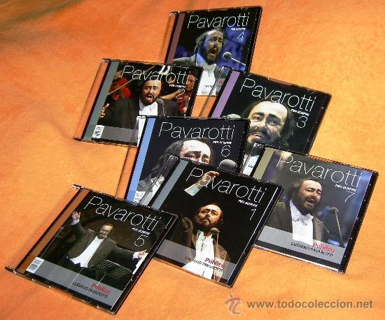 LUCIANO PAVAROTTI (PER SEMPRE) COLECCIÓN 7 CDS DEL DIARIO PÚBLICO / COMO NUEVOS (Música - CD's Clásica, Ópera, Zarzuela y Marchas)