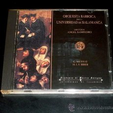 CDs de Música: ORQUESTA BARROCA DE LA UNIVERSIDAD DE SALAMANCA - DIRECCION: ANGEL SAMPEDRO - 1998. Lote 29948927