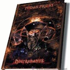 CDs de Música: JUDAS PRIEST * 2 CD BOOK * NOSTRADAMUS * LTD DESCATALOGADO LIBRO * PRECINTADO. Lote 57199265