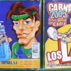 CDs de Música: CD CARNAVALES DE CADIZ 2005, CHIRIGOTA LOS LAYS. Lote 30067311