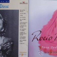 """CDs de Música: 2 CD'S DE ROCIO DURCAL INCLUYE EL ALBUM """"PARA TODA LA VIDA"""" TOTAL 23 TEMAS EN LOS 2 CD'S. Lote 30081313"""