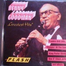 """CDs de Música: CD DE BENNY GOODMAN """"GREATEST HITS"""" 16 FABULOSOS TEMAS DE LOS AÑOS 50. Lote 30081642"""