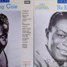 CDs de Música: DOBLE CD DE NAT KING COLE , COLECCION VIDA COTIDIANA DECON UN TOTAL DE 24 DE SUS PRINCIPALES EXITOS. Lote 30087950