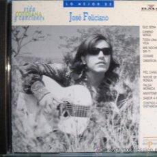 CDs de Música: CD DE JOSE FELICIANO CON 12 PRECIOSOS BOLEROS COLECCION VIDA COTIDIANA DE EDICIONES DEL PRADO. Lote 30088198