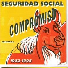 CDs de Música: SEGURIDAD SOCIAL - DOS CD - COMPROMISO DE AMOR - ALBUM COMPLETO VOLUMEN I Y II - GASA - AÑO 1995. Lote 30095802