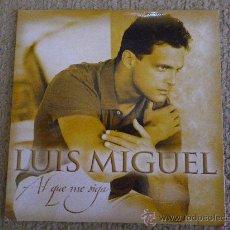 CDs de Música: LUIS MIGUEL AL QUE ME SIGA CD SINGLE PROMOCIONAL CON LA PORTADA DE CARTON MANUEL ALEJANDRO 1 TEMA. Lote 211664874