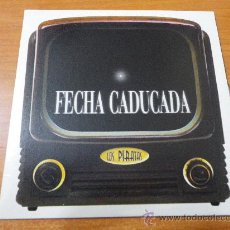 CDs de Música: LOS PIRATAS FECHA CADUCADA CD SINGLE PROMOCIONAL DE CARTON DEL AÑO 1997 1 TEMA IVAN FERREIRO. Lote 198393861