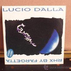CD de Música: LUCIO DALLA CANZONE - CANCIÓN - SPANISH GET FAR RADIO EDIT, EXTENDED, GET FAR RADIO Y EXTENDED.. Lote 30235421