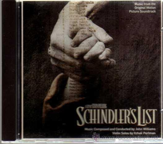 CD - BSO - SCHINDLER'S LIST - MCA RECORDS - ALTAYA - 1995 (Música - CD's Bandas Sonoras)