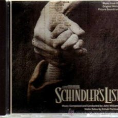 CDs de Música: CD - BSO - SCHINDLER'S LIST - MCA RECORDS - ALTAYA - 1995. Lote 30236526