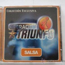 CDs de Música: OPERACIÓN TRIUNFO: COLECCIÓN SALSA. CD.. Lote 30241700