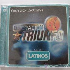 CDs de Música: OPERACIÓN TRIUNFO. COLECCIÓN LATINOS. CD. PRECINTADO. Lote 30241743