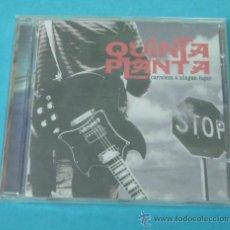 CDs de Música: QUINTA PLANTA. CARRETERA A NINGÚN LUGAR. L'ESPAIRECORDS. 2004. Lote 30296510