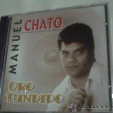 CDs de Música: CD / MANUEL CHATO , ORO FUNDIDO. PEPETO. Lote 30338571