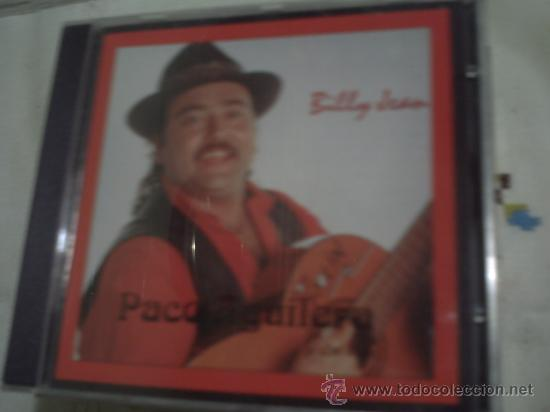 PACO AGUILERA - BILLY JEAN CD ALBUM 1994 SPAIN PEPETO (Música - CD's Flamenco, Canción española y Cuplé)