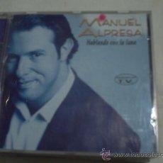CDs de Música: MANUEL ALPRESA / HABLANDO CON LA LUNA / CD ALBUM PEPETO. Lote 30430255