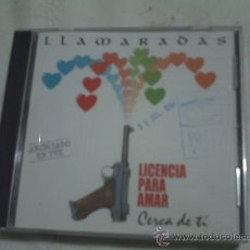 CDs de Música: LLAMARADAS / LICENCIA PARA MATAR (CD SINGLE DIAL 1997) . CECA DE TI PEPETO. Lote 30430627