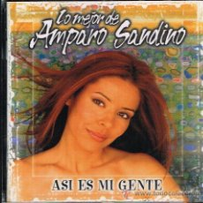 CDs de Música: AMPARO SANDINO - ASÍ ES MI GENTE. LO MEJOR DE - CD 2000. Lote 30432979