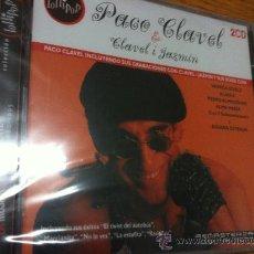 CDs de Música: CD PACO CLAVEL & CLAVEL I JAZMIN 2CD DUETOS CON ALASKA -PADRO ALMODOVAR POR ESTRENAR. Lote 115296162