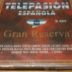 CDs de Música: CD TELEPASION ESPAÑOLA GRAN RESERVA VOL 1 2CDS POR ESTRENAR. Lote 194674225
