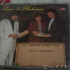 CDs de Música: CD SINGLE/ LUCES DE BOHEMIA - EL TIEMPO QUITA Y DA ,GENTE SENCILLADISCOS JAZMIN 1993. Lote 30439380