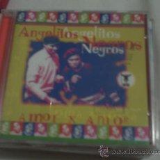 CDs de Música: ANGELITOS NEGROS/ AMOR X AMOR/CD ALBUM PARTICIPARON EN LA VOZ SIN EXITO PEPETO. Lote 30439467