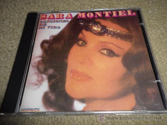SARA MONTIEL CANCIONES DE MI VIDA CD ALBUM DEL AÑO 1987 CONTIENE 18 TEMAS DE PELICULAS (Música - CD's Flamenco, Canción española y Cuplé)