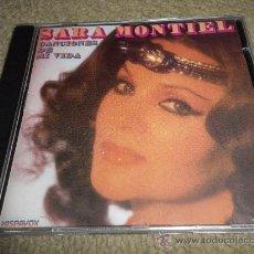 CDs de Música: SARA MONTIEL CANCIONES DE MI VIDA CD ALBUM DEL AÑO 1987 CONTIENE 18 TEMAS DE PELICULAS. Lote 30443968