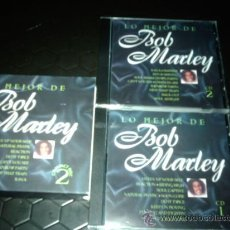 CDs de Música: LO MEJOR DE BOB MARLEY CAJA CON DOS CDS SEND MUSIC AÑO 2000 NUEVOS DESCATALOGADOS. Lote 30487505