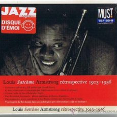 CDs de Música: LOUIS ARMSTRONG SATCHO RETROSPECTIVE 1923-1956 BOX SET. Lote 30508481