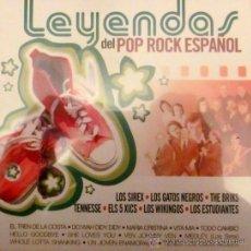 CDs de Música: SIREX, GATOS NEGROS, BRIKS, ELS 5 XICS, WIKINGOS, ESTUDIANTES - LEYENDAS DEL POP ROCK ESPAÑOL. Lote 277679193
