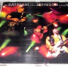 CDs de Música: JOE SATRIANI ERIC JOHNSON STEVE VAI - G3 LIVE IN CONCERT - CD - SONY 1997. Lote 30552734