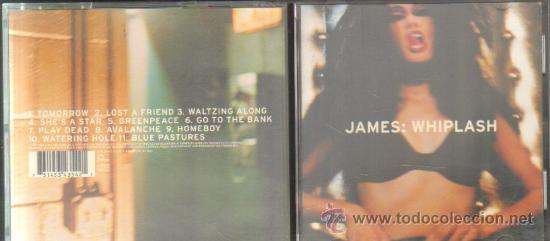 James - whiplash cd-grupext-149 - Sold through Direct Sale