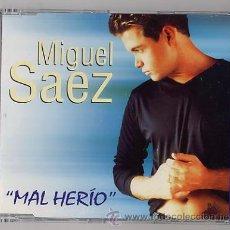 CDs de Música: MIGUEL SAEZ - MAL HERIDO ( CD SINGLE ). Lote 30604033