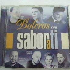 CDs de Música: BOLEROS CON SABOR A TI - MIGUEL BOSE - ALEJANDRO SANZ - COMPLICES - LA UNION - ETC - CD 2000 VER +. Lote 30616634
