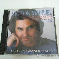 CDs de Música: VICTOR MANUEL - SOY UN CORAZON TENDIDO AL SOL Y OTROS GRANDES EXITOS - 10 CANCIONES - VER DETALLE. Lote 30618614