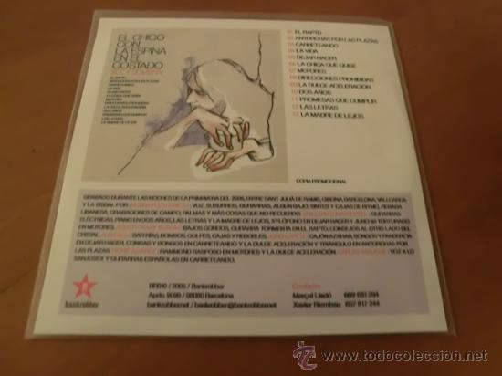 EL CHICO CON LA ESPINA EN EL COSTADO - SOL Y SOMBRA - CD PROMOCIONAL - 13 TRACKS (Música - CD's Pop)