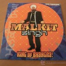 CDs de Música: MALKIT SINGH - KING OF BHANGRA! - CD PROMOCIONAL - 12 TRACKS. Lote 30636547