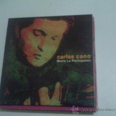 CDs de Música: CARLOS CANO-MARIA LA PORTUGUESA CDSINGLE PROMO 2000 PEPETO. Lote 30653199