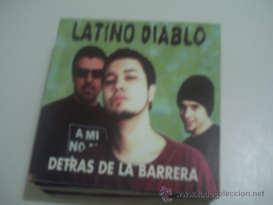 LATINO DIABLO DETRAS DE LA BARRERA/ CD SINGLE PROMO (Música - CD's Latina)