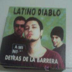 Musik-CDs - LATINO DIABLO DETRAS DE LA BARRERA/ CD SINGLE PROMO - 30653317