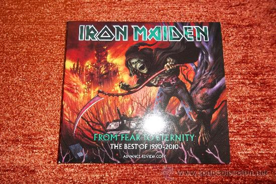 IRON MAIDEN FROM FEAR TO ETERNITY 2 CD DIGIPACK (Música - CD's Heavy Metal)