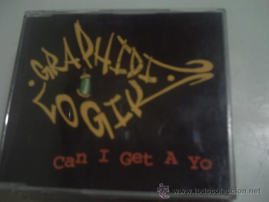GRAPHIDI LOGIK / CAN I GET A YO / 4TRACK / CD PEPETO (Música - CD's Hip hop)