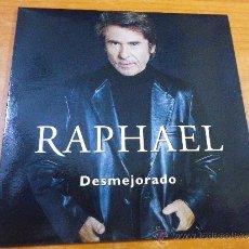 CDs de Musique: RAPHAEL DESMEJORADO CD SINGLE PROMOCIONAL DE CARTON ENRIQUE BUNBURY SHUARMA HEROES DEL SILENCIO. Lote 140300489
